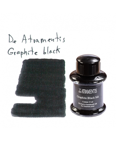 De Atramentis GRAPHITE BLACK (Tintero 35 ml)