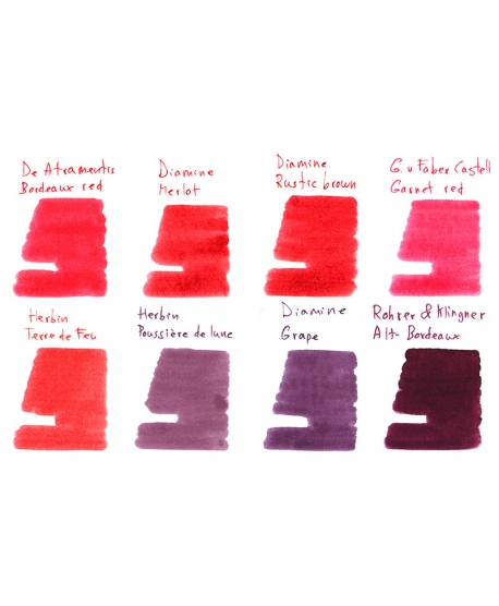 Collection of samples BURGUNDY