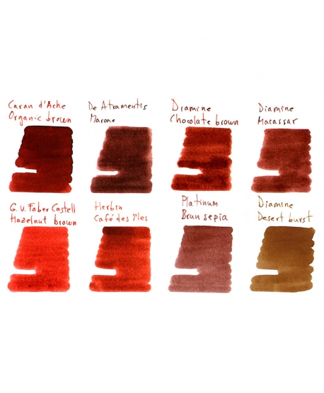 Collection of samples BROWNS