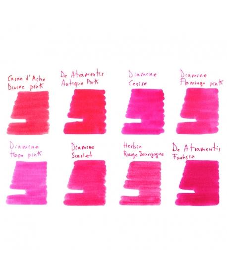 Groupe d'échantillons ROSES ROUGES