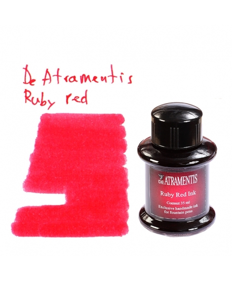 De Atramentis RUBY RED (Tintero 35 ml)