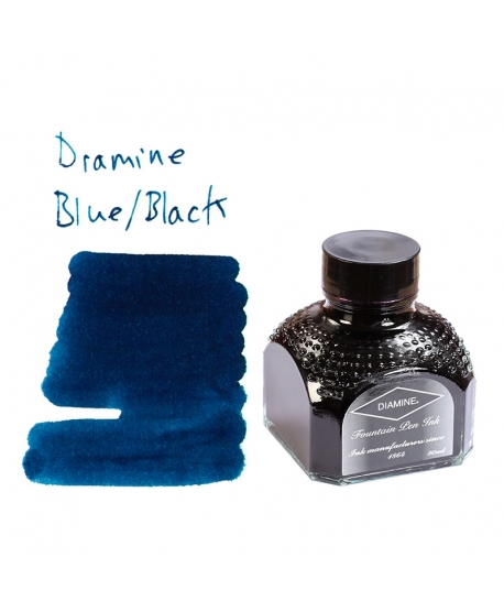 Diamine BLUE/BLACK (80 ml bottle of ink)