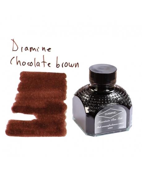 Diamine CHOCOLATE BROWN (Tintero 80 ml)