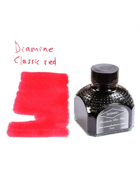 Diamine CLASSIC RED (80 ml bottle of ink)