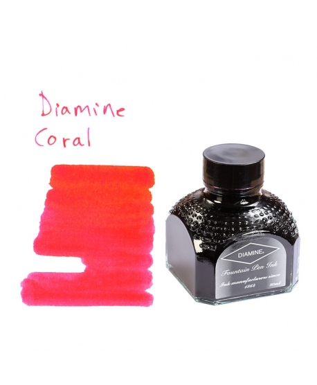 Diamine CORAL (80 ml bottle of ink)