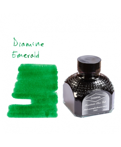 Diamine EMERALD (Tintero 80 ml)