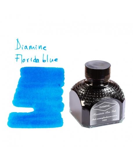 Diamine FLORIDA BLUE (80 ml bottle of ink)