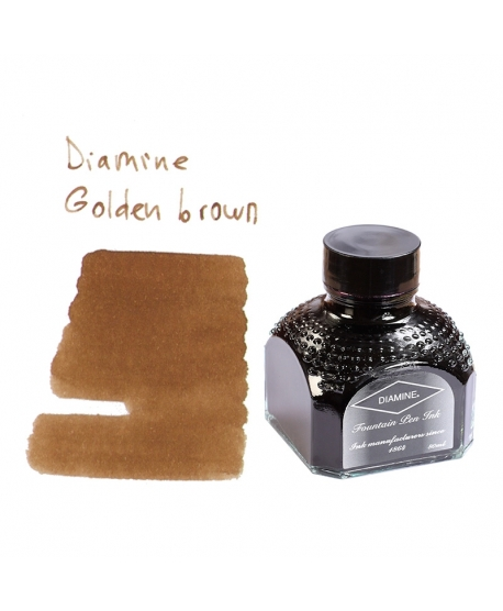 Diamine GOLDEN BROWN (Tintero 80 ml)