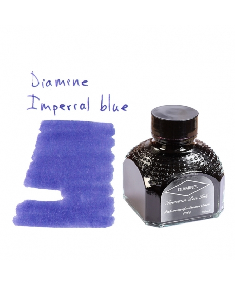 Diamine IMPERIAL BLUE (Bouteille d' encre 80 ml)