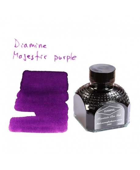 Diamine MAJESTIC PURPLE (80 ml bottle of ink)