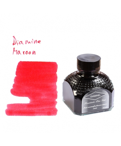 Diamine MAROON (80 ml bottle of ink)