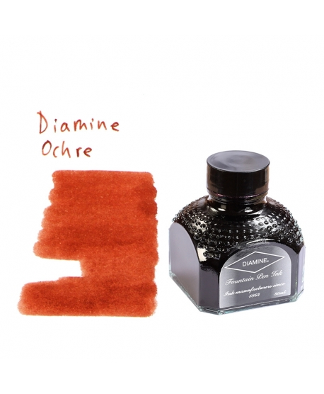 Diamine OCHRE (Bouteille d' encre 80 ml)