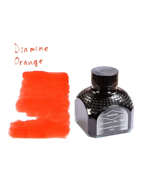 Diamine ORANGE (80 ml bottle of ink)