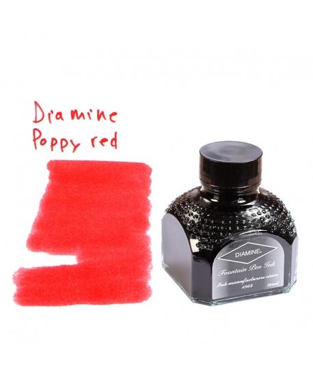 Diamine POPPY RED (Tintero 80 ml)