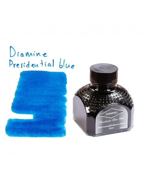 Diamine PRESIDENTIAL BLUE (Bouteille d' encre 80 ml)