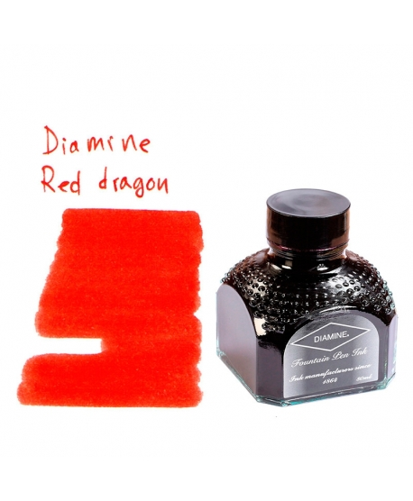 Diamine RED DRAGON (Tintero 80 ml)