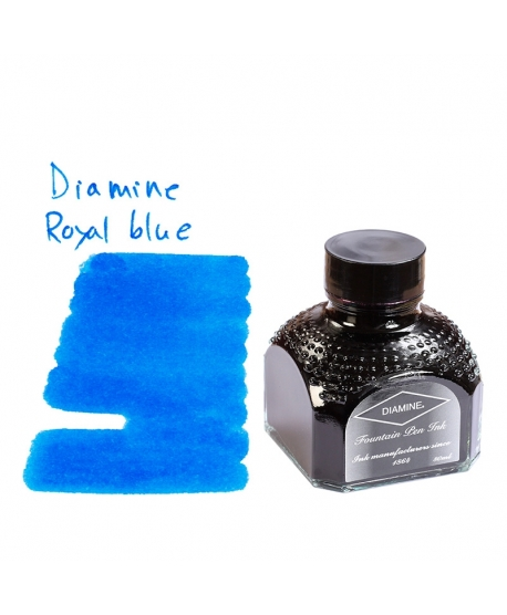 Diamine ROYAL BLUE (80 ml bottle of ink)