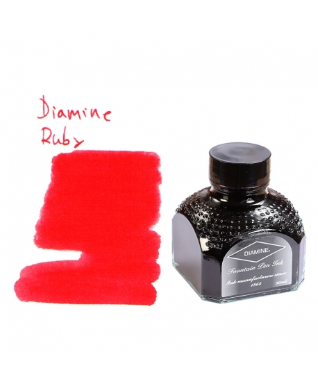 Diamine RUBY (80 ml bottle of ink)