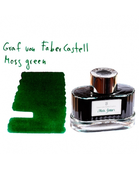 Faber-Castell MOSS GREEN (75 ml bottle of ink)