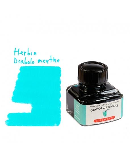 Herbin DIABOLO MENTHE (Bouteille d' encre 30 ml)