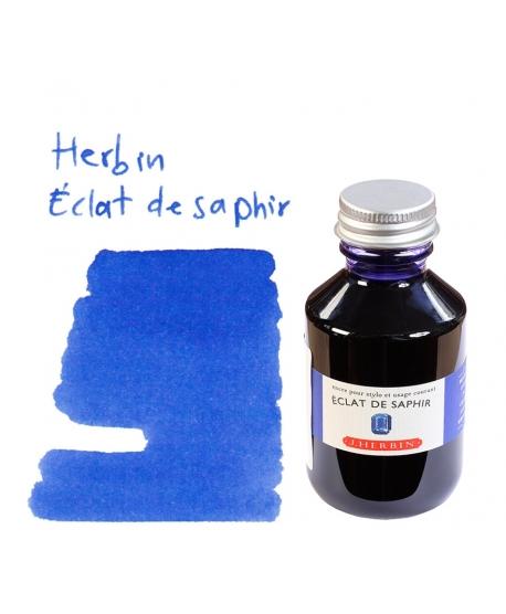 Herbin ÉCLAT DE SAPHIR (Bouteille d' encre 100 ml)