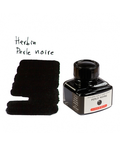 Herbin PERLE NOIRE (30 ml bottle of ink)