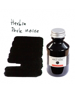Herbin PERLE NOIRE (100 ml bottle of ink)