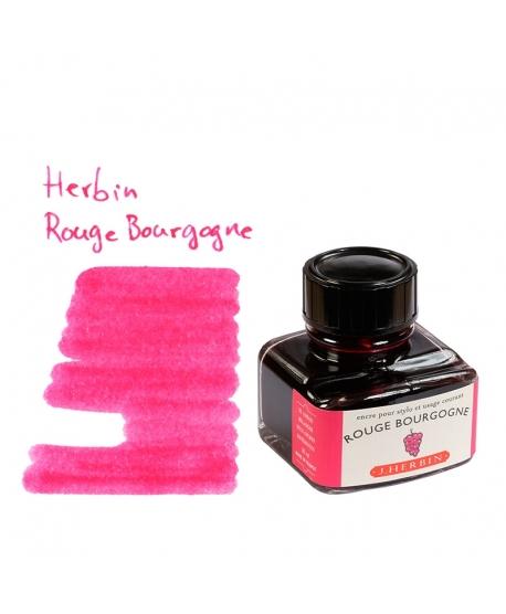Herbin ROUGE BOURGOGNE (Bouteille d' encre 30 ml)