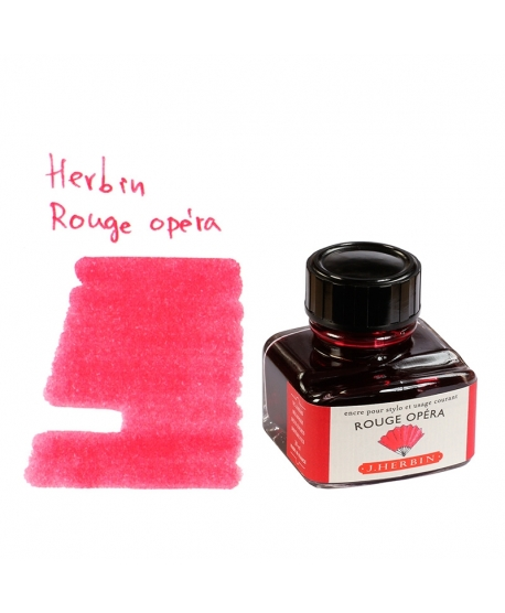 Herbin ROUGE OPÉRA (Bouteille d' encre 30 ml)