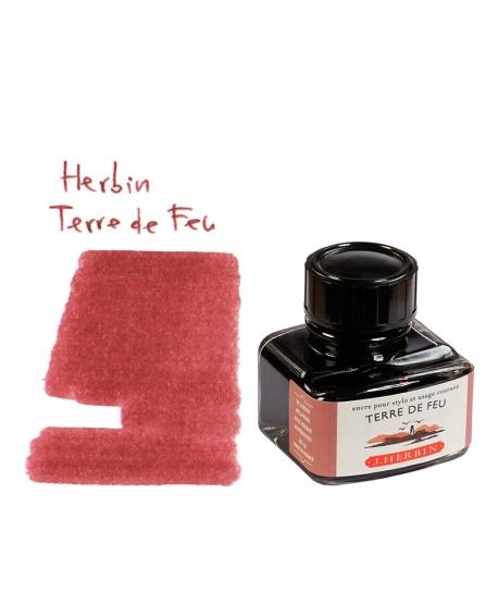 Herbin TERRE DE FEU (Bouteille d' encre 30 ml)