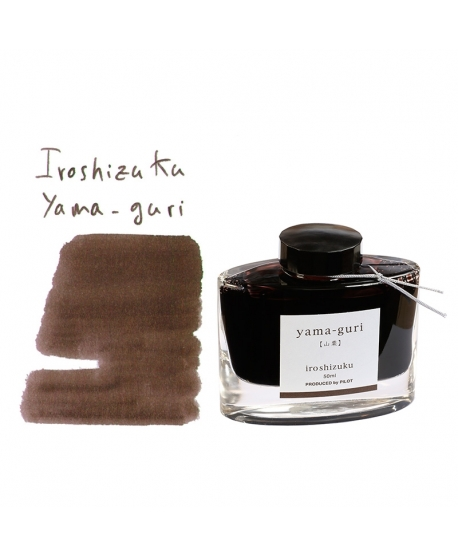 Pilot Iroshizuku YAMA-GURI (50 ml bottle of ink)
