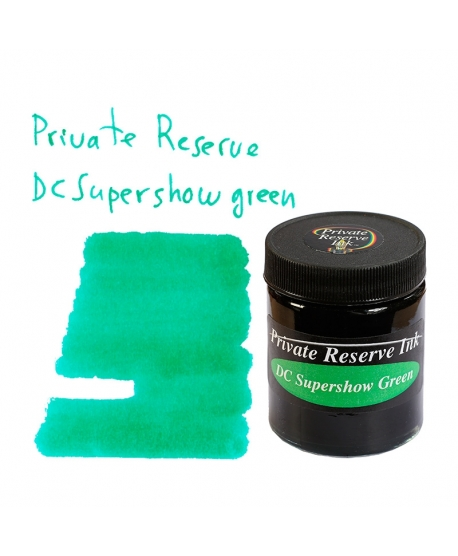 Private Reserve DC SUPERSHOW GREEN (66 ml bottle of ink)