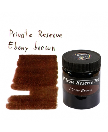 Private Reserve EBONY BROWN (66 ml bottle of ink)