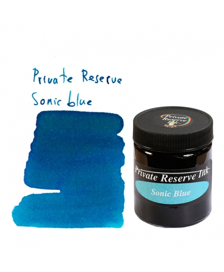 Private Reserve SONIC BLUE (66 ml bottle of ink)