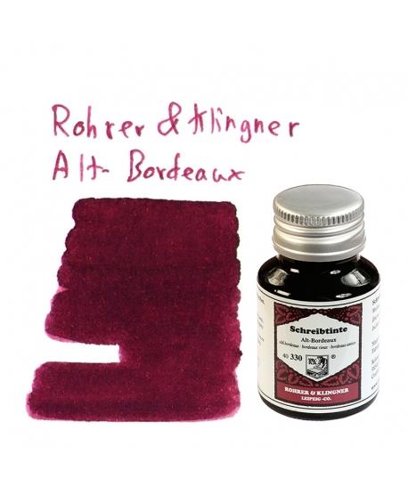 Rohrer & Klingner ALT-BORDEAUX (50 ml bottle of ink)