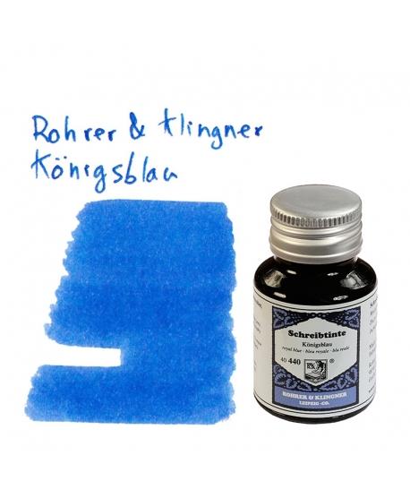 Rohrer & Klingner KÖNIGSBLAU (50 ml bottle of ink)