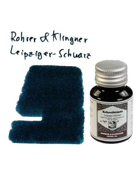 Rohrer & Klingner LEIPZIGER-SCHWARZ (Tintero 50 ml)