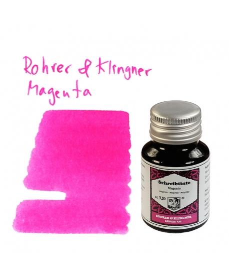 Rohrer & Klingner MAGENTA (50 ml bottle of ink)