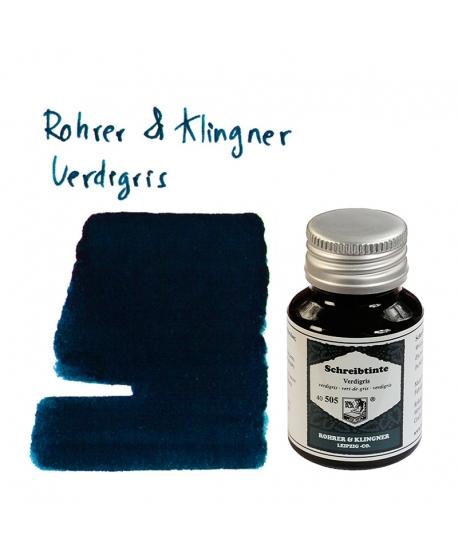 Rohrer & Klingner VERDIGRIS (50 ml bottle of ink)