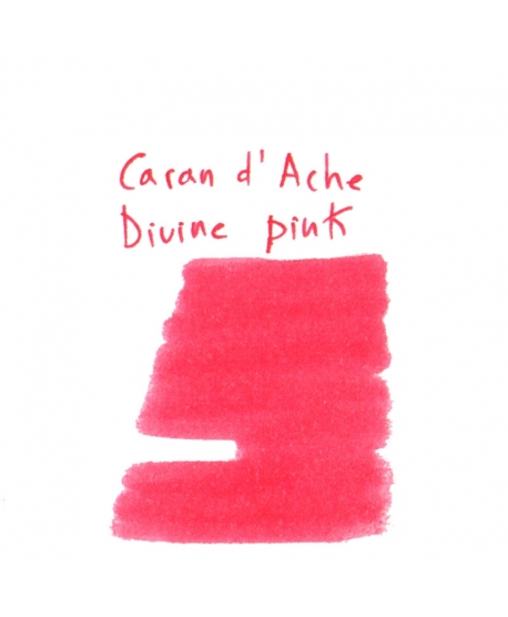 Caran d'Ache DIVINE PINK (2 ml plastic vial of ink)