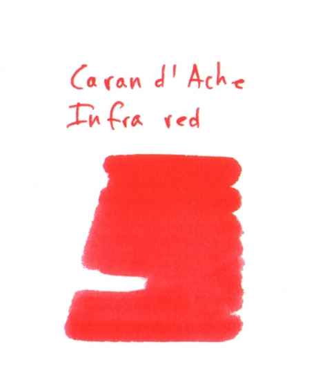 Caran d'Ache INFRA RED (2 ml plastic vial of ink)