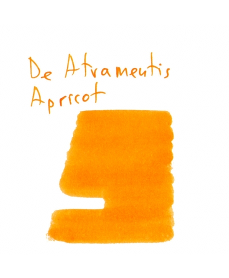 De Atramentis APRICOT (2 ml plastic vial of ink)
