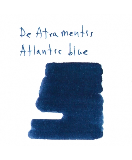 De Atramentis ATLANTIC BLUE (2 ml plastic vial of ink)