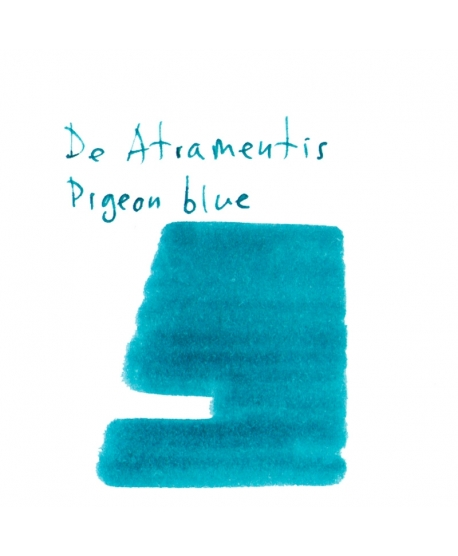 De Atramentis PIGEON BLUE (2 ml plastic vial of ink)
