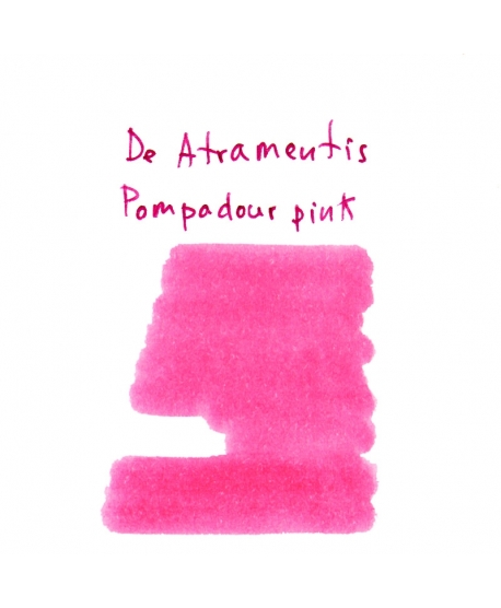 De Atramentis POMPADOUR PINK (2 ml plastic vial of ink)