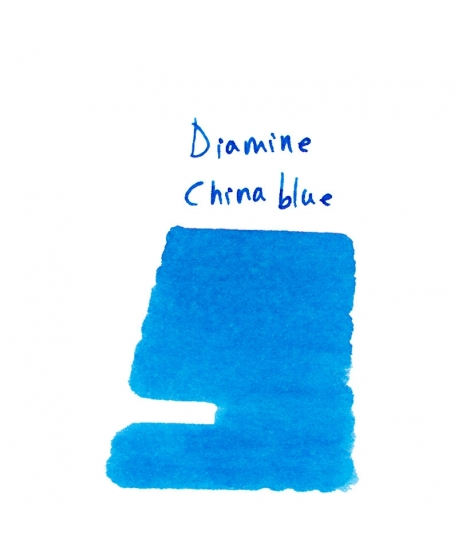 Diamine CHINA BLUE (2 ml plastic vial of ink)