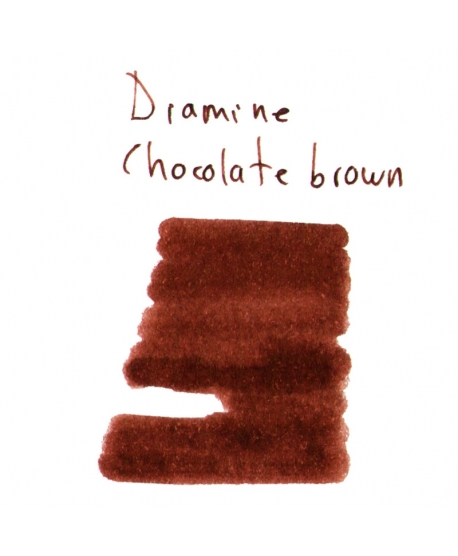 Diamine CHOCOLATE BROWN (2 ml plastic vial of ink)