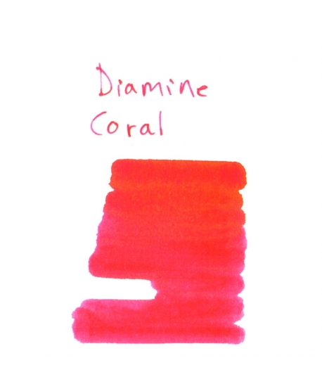Diamine CORAL (2 ml plastic vial of ink)