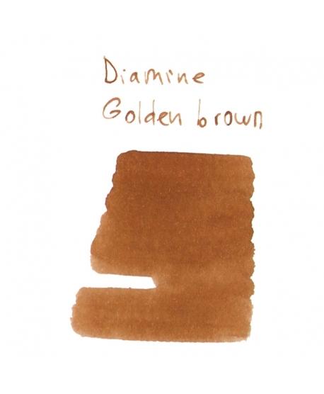 Diamine GOLDEN BROWN (2 ml plastic vial of ink)
