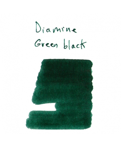 Diamine GREEN BLACK (2 ml plastic vial of ink)